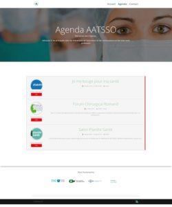 Capture de la page Agenda