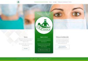 Capture de la page Forum